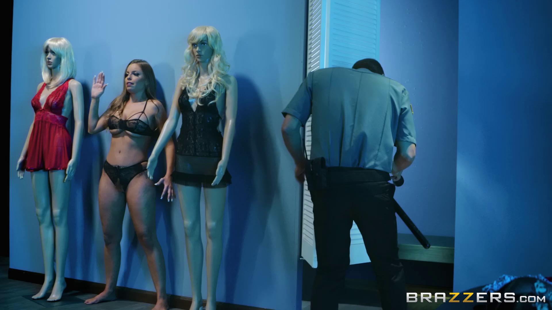 Britney Amber The Mannequin And The Security Guard