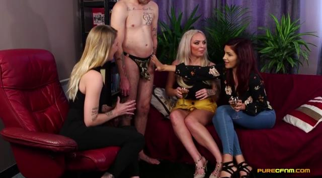 [PureCFNM] Amina Danger, Louise Lee, Melody Pleasure – Its Been Ages