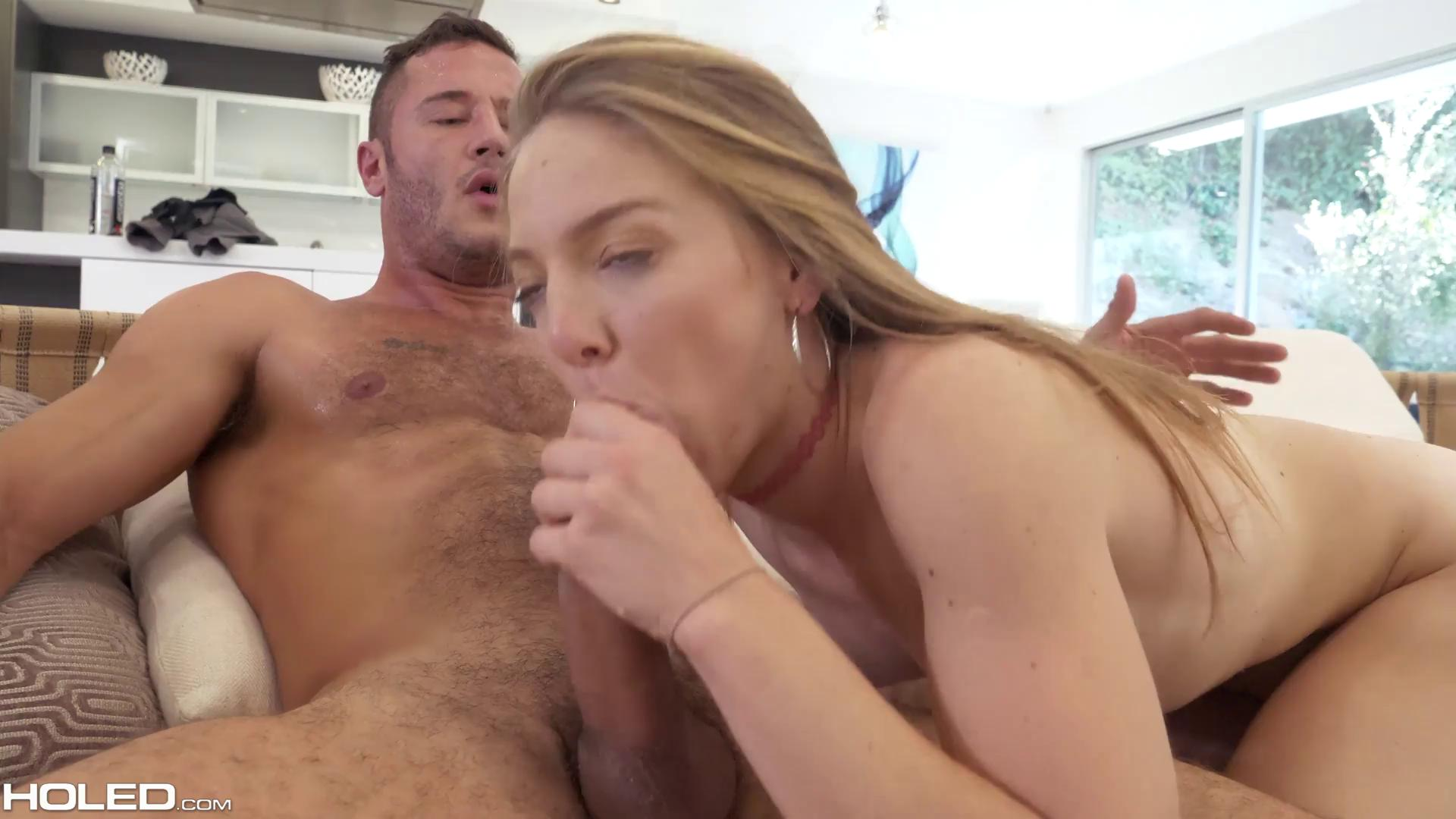 Holed – Luna Light Cum Filled Tush