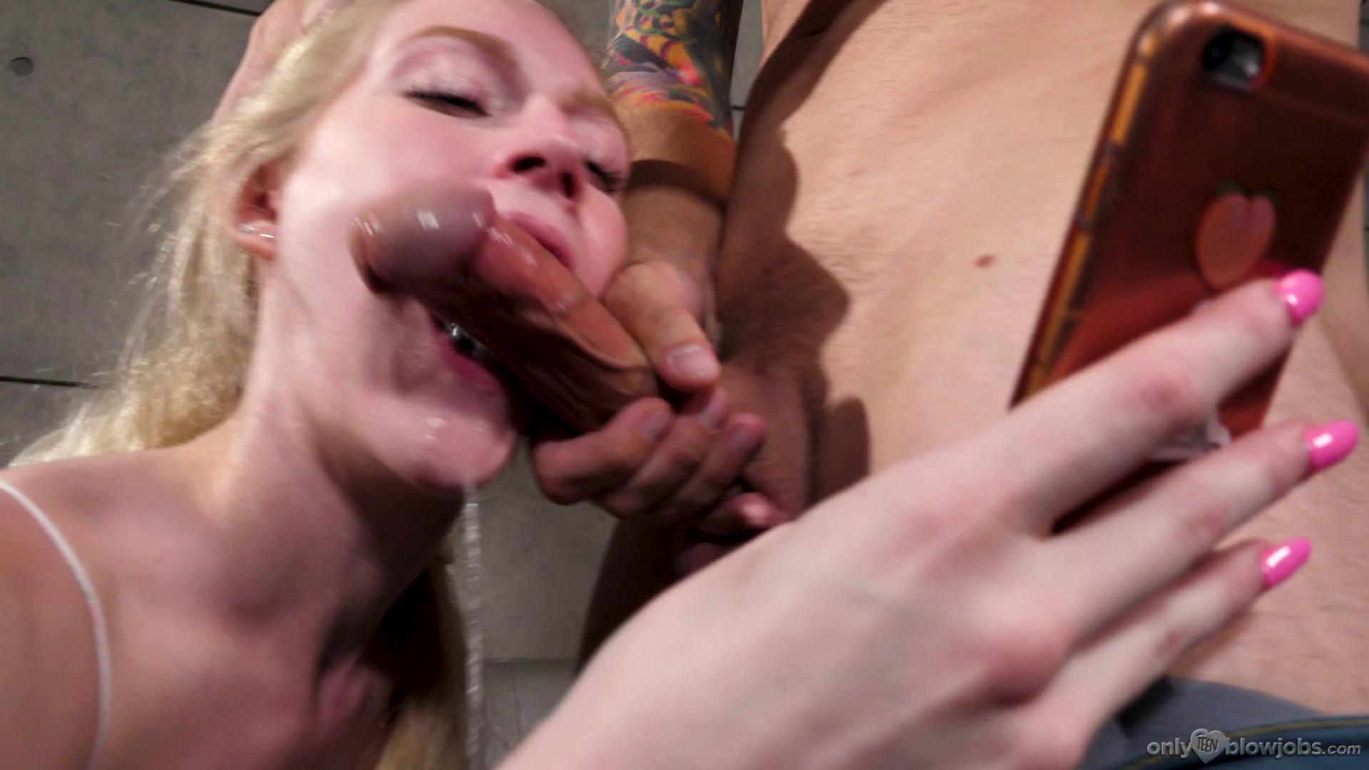 Emma Starletto Texting While Sucking