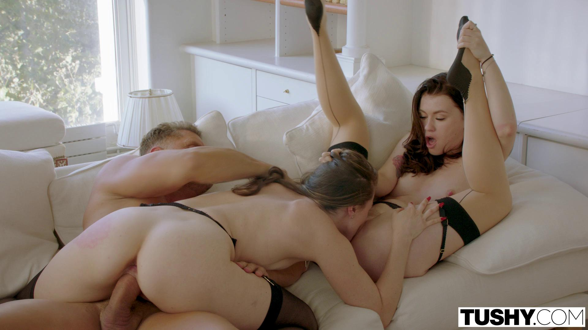 Tushy – Tori Black And Misha Cross