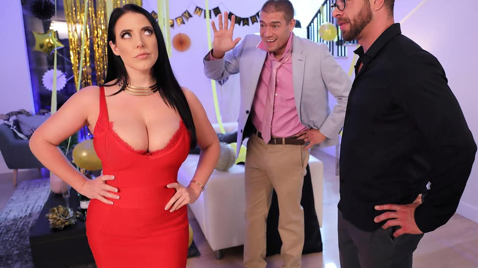 [RealWifeStories] Angela White – Fappy New Year